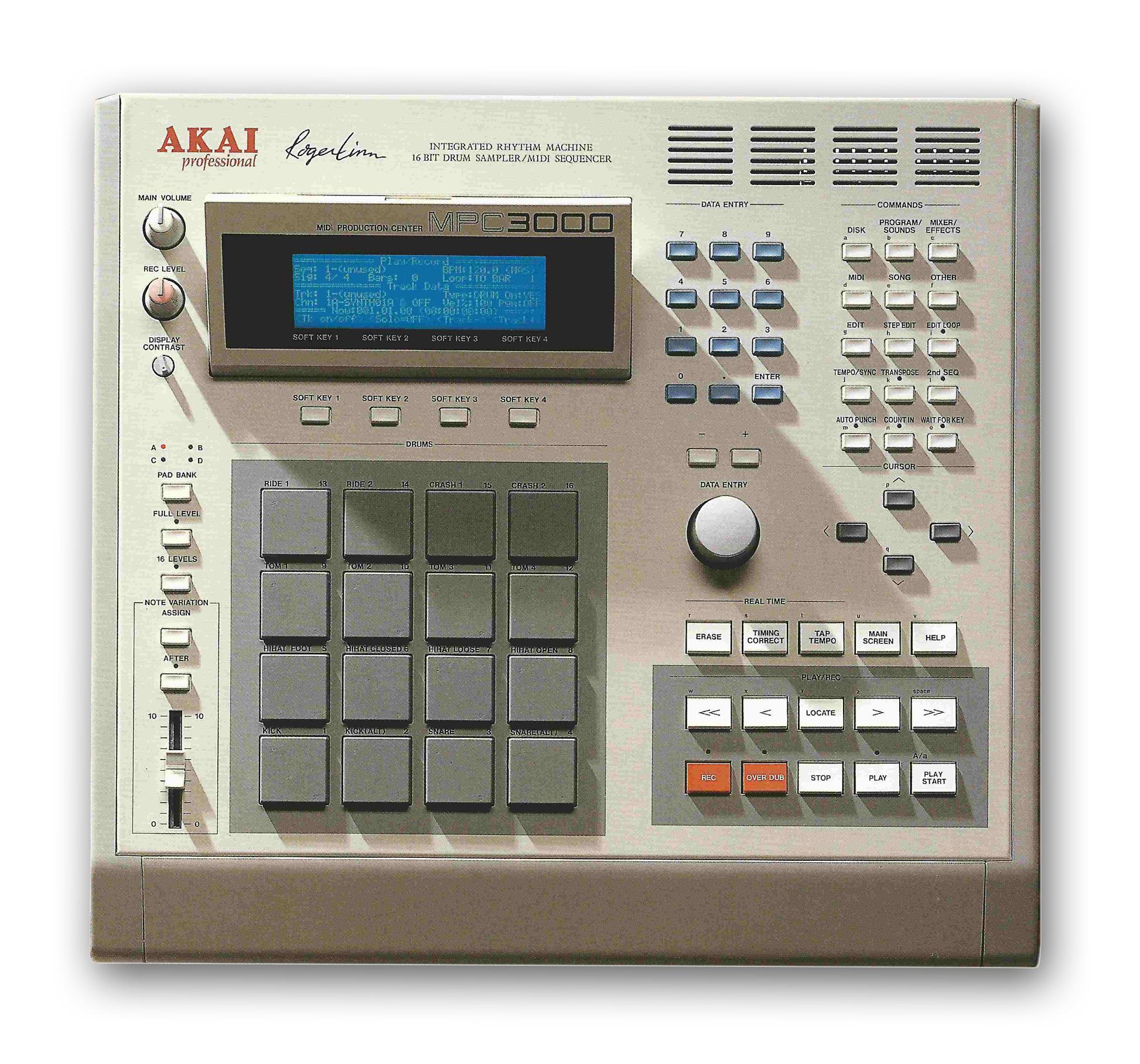 mpc3000 panel 1