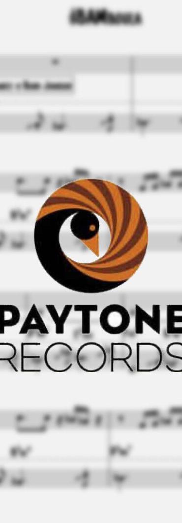 paytone sheet music